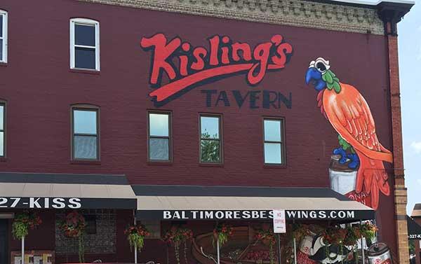 Kislings Tavern Baltimore Maryland Contact Us